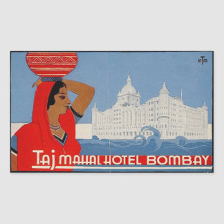 Taj Mahal Hotel (Bombay India) Sticker