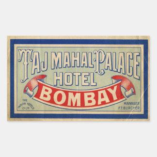 Taj Mahal Hotel Sticker
