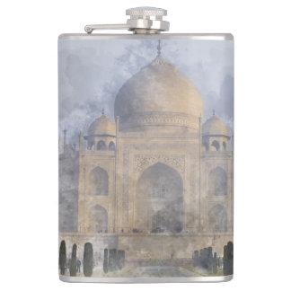 Taj Mahal in Agra India Flask