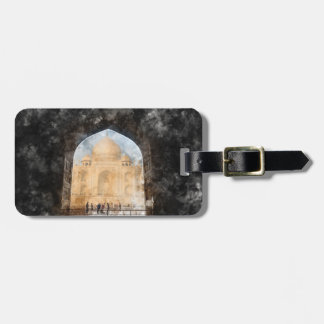 Taj Mahal in Agra India Luggage Tag