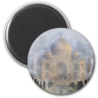 Taj Mahal in Agra India Magnet
