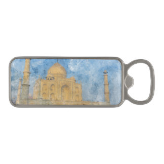 Taj Mahal in Agra India Magnetic Bottle Opener