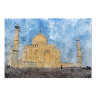 Taj Mahal in Agra India Photo Print