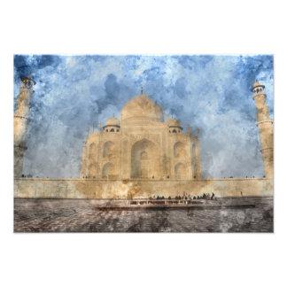 Taj Mahal in Agra India Photograph