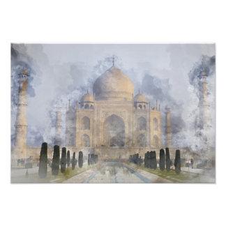 Taj Mahal in Agra India Photographic Print