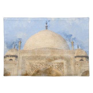 Taj Mahal in Agra India Placemat