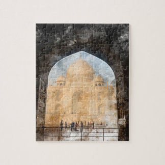Taj Mahal in Agra India Puzzle