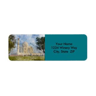 Taj Mahal in Agra India Return Address Label