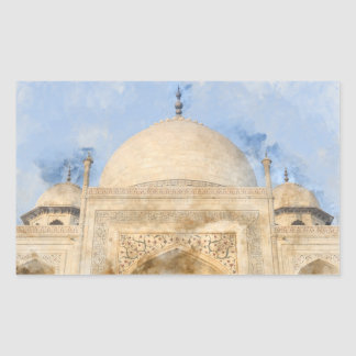 Taj Mahal in Agra India Sticker