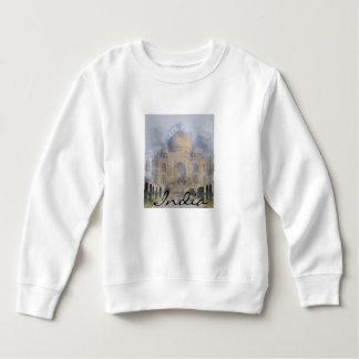 Taj Mahal in Agra India Sweatshirt