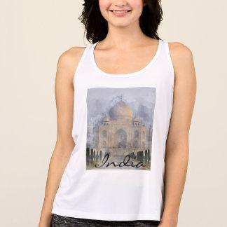 Taj Mahal in Agra India Tank Top