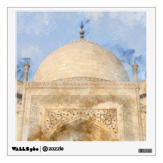 Taj Mahal in Agra India Wall Decal
