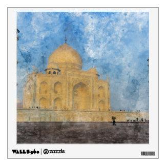 Taj Mahal in Agra India Wall Sticker