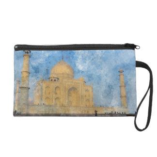 Taj Mahal in Agra India Wristlet