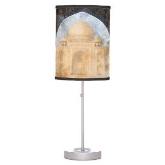 Taj Mahal in the Morning Table Lamps