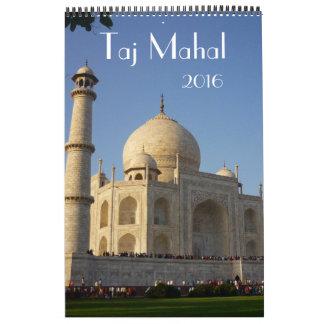 taj mahal india 2016 calendars
