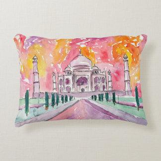 Taj Mahal India Bollywood pillow