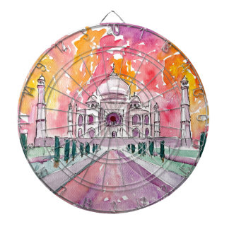 Taj Mahal India Dartboard