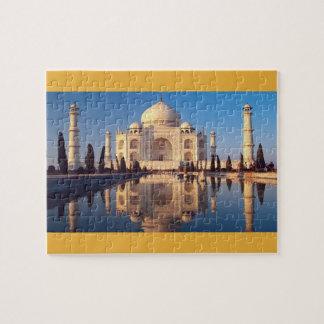 Taj Mahal, India Jigsaw Puzzle