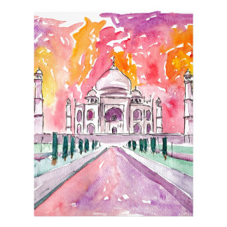 Taj Mahal India Letterhead