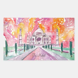 Taj Mahal India Sticker