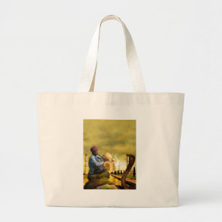 Taj Mahal Large Tote Bag