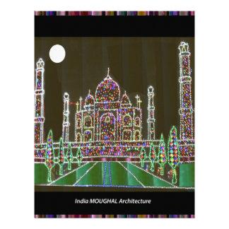 TAJ Mahal Moghul Architecture Heritage Building 99 Letterhead