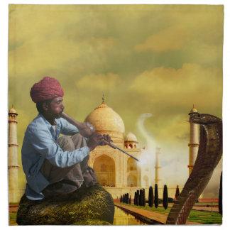Taj Mahal Napkin
