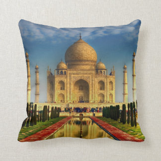 Taj Mahal Photo Pillow