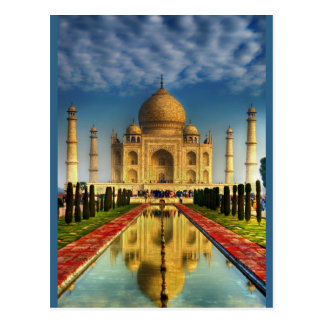 Taj Mahal Photo Postcard