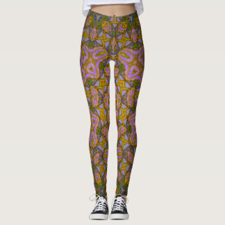 Taj Mahal Sky leggings