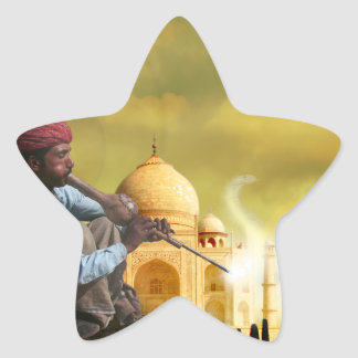 Taj Mahal Star Sticker