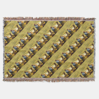 Taj Mahal Throw Blanket