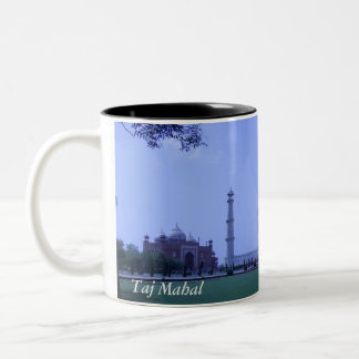 Taj Mahal Two-Tone Coffee Mug