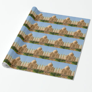 taj mahal wrapping paper