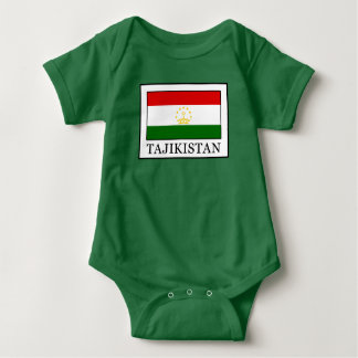 Tajikistan Baby Bodysuit