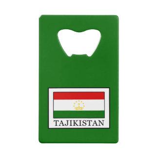 Tajikistan Credit Card Bottle Opener