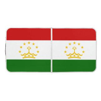 Tajikistan Flag Beer Pong Table