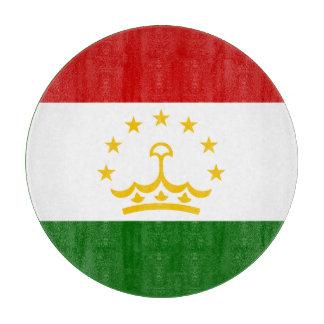 Tajikistan Flag Cutting Board