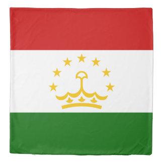 Tajikistan Flag Duvet Cover