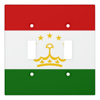 Tajikistan Flag Light Switch Cover