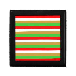 Tajikistan flag stripes gift box