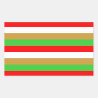Tajikistan flag stripes sticker