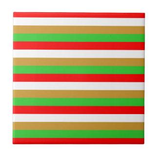 Tajikistan flag stripes tile