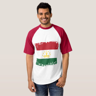 Tajikistan Flag, tajik Colors T-shirt