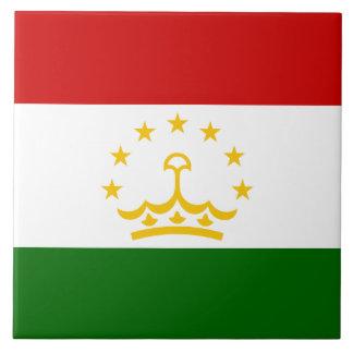 Tajikistan Flag Tile