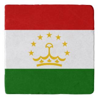 Tajikistan Flag Trivet