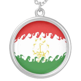 Tajikistan Gnarly Flag Custom Jewelry