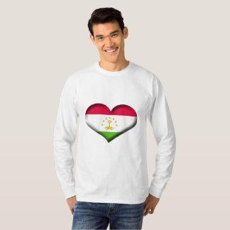 Tajikistan Heart Flag T-Shirt