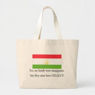 Tajikistan Jumbo Tote Bag